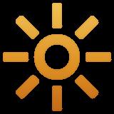 High Brightness Symbol whatsapp emoji