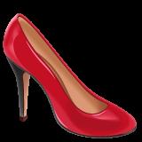 High-heeled Shoe whatsapp emoji