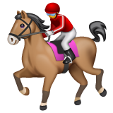 Horse Racing whatsapp emoji
