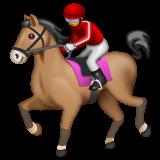 Horse Racing whatsapp emoji