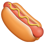 Hot Dog whatsapp emoji