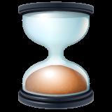Hourglass whatsapp emoji
