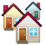 House Buildings whatsapp emoji