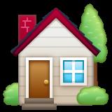 House With Garden whatsapp emoji