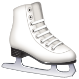 Ice Skate whatsapp emoji