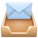 Incoming Envelope whatsapp emoji