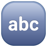Input Symbol For Latin Letters whatsapp emoji