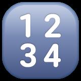 Input Symbol For Numbers whatsapp emoji