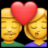 Kiss whatsapp emoji