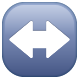Left Right Arrow whatsapp emoji