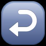 Leftwards Arrow With Hook whatsapp emoji