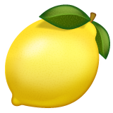 Lemon whatsapp emoji