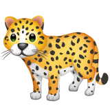 Leopard whatsapp emoji