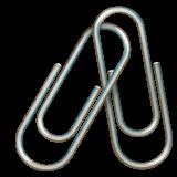 Linked Paperclips whatsapp emoji