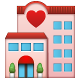 Love Hotel whatsapp emoji