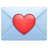 Love Letter whatsapp emoji