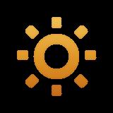 Low Brightness Symbol whatsapp emoji