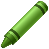 Lower Left Crayon whatsapp emoji