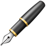 Lower Left Fountain Pen whatsapp emoji