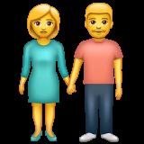 Man And Woman Holding Hands whatsapp emoji