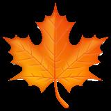 Maple Leaf whatsapp emoji