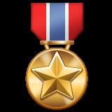 Military Medal whatsapp emoji
