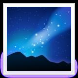 Milky Way whatsapp emoji