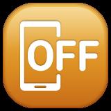 Mobile Phone Off whatsapp emoji