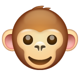 Monkey Face whatsapp emoji