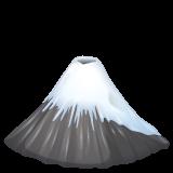 Mount Fuji whatsapp emoji