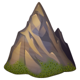 Mountain whatsapp emoji
