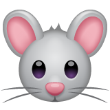 Mouse Face whatsapp emoji