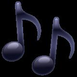 Multiple Musical Notes whatsapp emoji