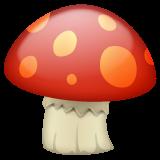Mushroom whatsapp emoji