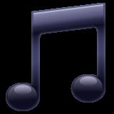 Musical Note whatsapp emoji