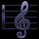 Musical Score whatsapp emoji