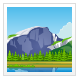 National Park whatsapp emoji