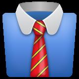 Necktie whatsapp emoji