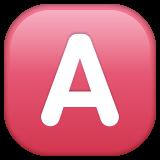 Negative Squared Latin Capital Letter A whatsapp emoji