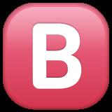 Negative Squared Latin Capital Letter B whatsapp emoji