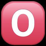 Negative Squared Latin Capital Letter O whatsapp emoji