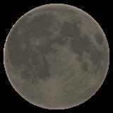 New Moon Symbol whatsapp emoji
