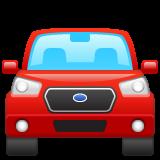 Oncoming Automobile whatsapp emoji