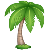 Palm Tree whatsapp emoji