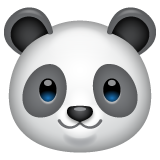 Panda Face whatsapp emoji