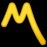 Part Alternation Mark whatsapp emoji