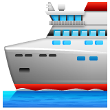 Passenger Ship whatsapp emoji