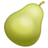 Pear whatsapp emoji