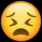 Persevering Face whatsapp emoji