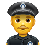Police Officer whatsapp emoji